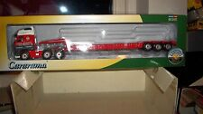 Cararama Oxford CR030 Volvo 1/50 Scale Low Loader Chris Bennett
