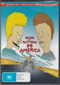 Beavis And Butthead Do America -Rare DVD Aus Stock Comedy New