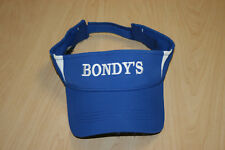 Bondy's Ford Lincoln Auto Dealership Adjustable Blue Visor Baseball Cap Hat