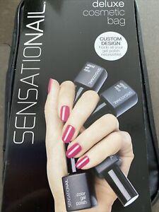 Sensationail Deluxe Nail/Gel Polish Varnish ,Manicure Custom Design Storage Bag,