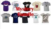 5 Mystery Pack Printed Unisex T-Shirt *Clearance* WholeSale Popular Deisgns