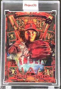 Topps Project 70 Card 437 - Shohei Ohtani by Andrew Thiele *IN HAND* PR 4335