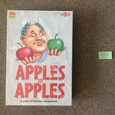 Apples To Apples Card / Board Game - Complete - Hilarious Comparisons - Boxed
