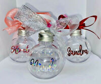 Booze Baubles Christmas Baubles, Self Fill Vodka Gin Rum Whisky Bauble Gift