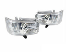 For Toyota Hiace 200 Van 2005~2010 Crystal Lens Projector Headlights Lamp 2PCS