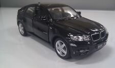 "New 5"" Kinsmart BMW X6 SUV Diecast Model Toy Car 1:38- Black"