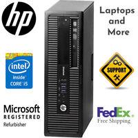 HP EliteDesk 800 G1 i5-4570 3.2GHz 16GB 500GB HD Windows 10 Pro  Computer