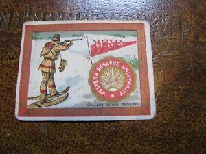 Murad T51 College Series Tobacco Cigarette Card Case Western Reserve Ski #21