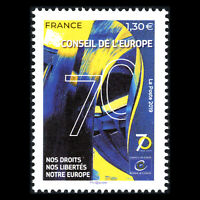 France 2019 - 70th anniversary of the Council of Europe - MNH