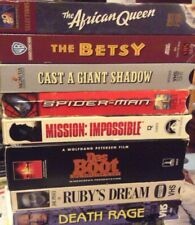 Multiple Vhs tapes * Pick the ones you want from these Adventure & Action movies