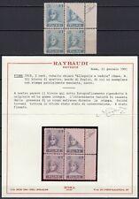 Occupazioni, Fiume - 2 cent Allegorie, 1919 - Nuovo (**) / Varietà, certificato