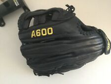 Wilson A600 A2472 Leather 11-3/4� Righthand Thrower Youth Baseball Glove Vgc