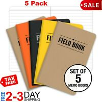 Field Notes Kraft Ruled 5-Pack