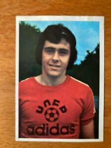 MICHEL PLATINI FRENCH CARD #289 AGEDUCATIFS FOOTBALL 74/75 - NANCY - ROOKIE