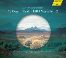 Bruckner / Gaechinge - Te Deum - Psalm 150 - Messe No. 2 [New CD]