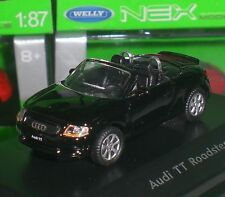 WELLY NEX MODELS AUDI TT ROADSTER DIECAST METAL PC BOX ECHELLE 1:87 HO NEUF OVP