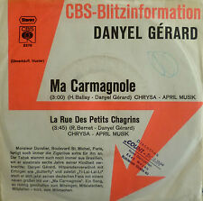 "7"" 1974 CBS-BLITZ VG++ ! DANYEL GERARD : Ma Carmagnole"