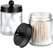 New ListingApothecary Jars Bathroom Stor 00006000 age Organizer - Dispenser Holder Vanity ( 2 Pack)