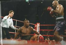 Mike Tyson v Evander Holyfield unsigned photo 12x8 Ref:1178
