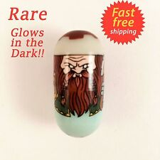 Mighty Beanz Series 2 (Original) Rare Dwarf Lord Bean #124 GLOWS IN THE DARK