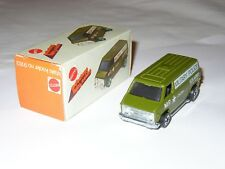 Hot Wheels - Rare Chevy Van - VINTAGE 1974 - No Redline - Made in HKONG 1974 BOX