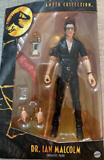 """Dr. Ian Malcolm Jurassic World Park Amber Collection Figure 6"""""""