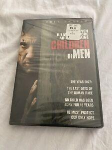 Enfants De Hommes (DVD 2007 Complet Cadre ) Écran DVD Clive Owen Nouveau &