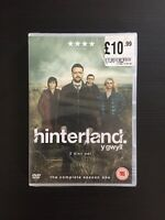 Hinterland: The Complete Series Season 1 / One (DVD 2014) - BRAND NEW & SEALED