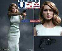 1/6 Léa Seydoux Head Sculpt Costume Set For SPECTRE James Bond Swann PHICEN USA