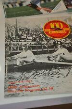 Royal Canadian Henley Rowing  Regatta program 100 100th Anniversary 1982 Crew