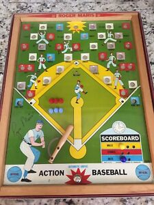 Original 1962 Roger Maris Action Baseball Game -Complete