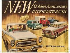 1957 International Refrigerator Magnet