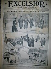 BULGARIE TZAR FERDINAND ET ARMéE SERBIE PRISE USKUB VRANJA EXCELSIOR 3/11/1912
