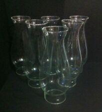 0118  Lume a petrolio  in vetro n*6 ricambi glass verrè bocce diam. inf. 6,3 cm
