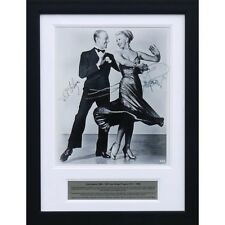 Fred Astaire and Ginger Rogers - Signed tribute present