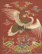 CHRISTIE'S CHINESE JAPANESE COSTUMES TEXTILES Robes Catalog 2006