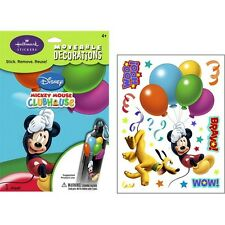 DISNEY MICKY MOUSE PLUTO Wall Decals Room Decor Stickers Birthday Decorations BE
