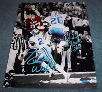 Dallas Cowboys Everson Walls & Michael Downs Signed Autographed 8x10 Photo Rare