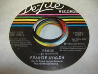Soul Unplayed NM! 45 FRANKIE AVALON Venus on De-Lite
