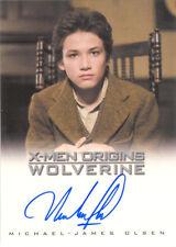 """X-Men Origins Wolverine - Michael-James Olsen as """"Young Victor"""" Auto/Autograph"""