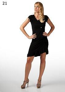 Abito vestito dress 1/2 manica, lunghette+coulisse fondo+frappina