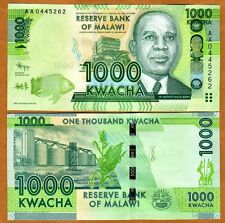 Malawi, 1000 Kwacha, 2012, P-New, AA-Prefix, UNC