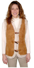 Ladies Shearling Vest, size medium