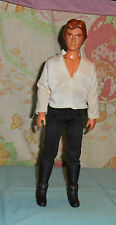 """vintage Star Wars LARGE-SIZE (12"""") HAN SOLO figure with shirt pants & belt only"""