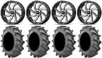 "MSA Mach Switch 20"" Wheels 35x8.3 BKT 171 Tires Can-Am Renegade Outlander"