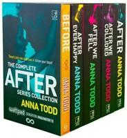 The Complete After Series Anna Todd Collection 5 Books Box Set Fiction Pack NEW
