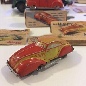 Lilliput Auto Distler The Mighty Midget Tin Windup Car W Box 1:64 Germany