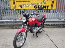 Honda CG 125 2006  only 3k miles,  electric start / disc brake model