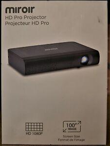 Miroir M289 Portable Projector 1080p DLP HD Pro Black - NEW