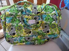 Vera Bradley Grand Traveler in Limes Up
